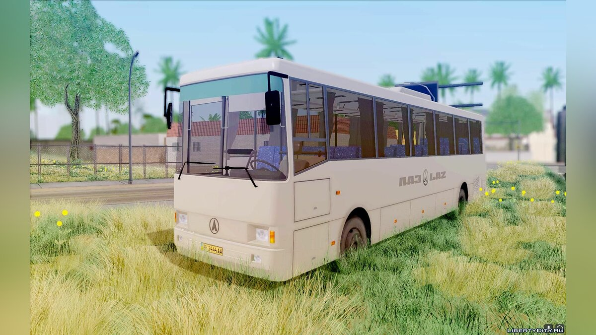 LAZ car LAZ 52078 (Liner-12) for GTA San Andreas
