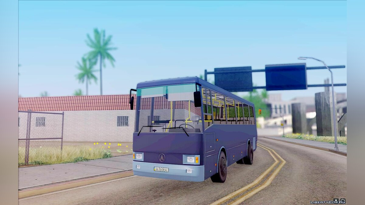 LAZ car LAZ 42078 (Liner-10) for GTA San Andreas