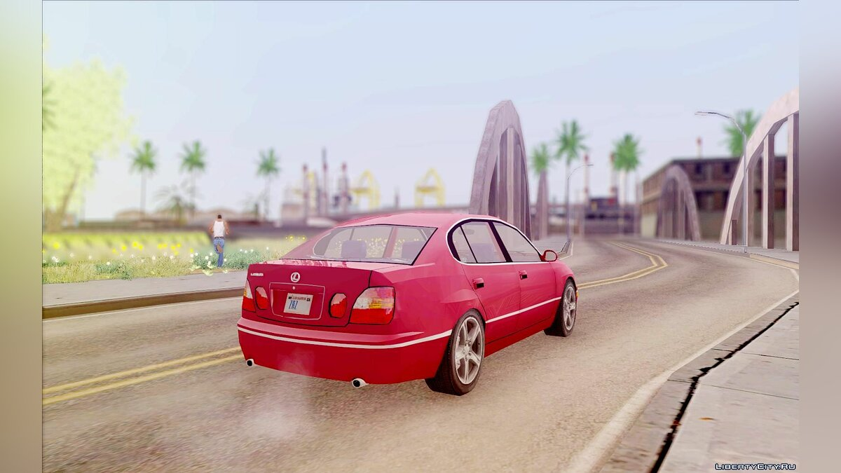 Lexus car Lexus GS430 1999 for GTA San Andreas