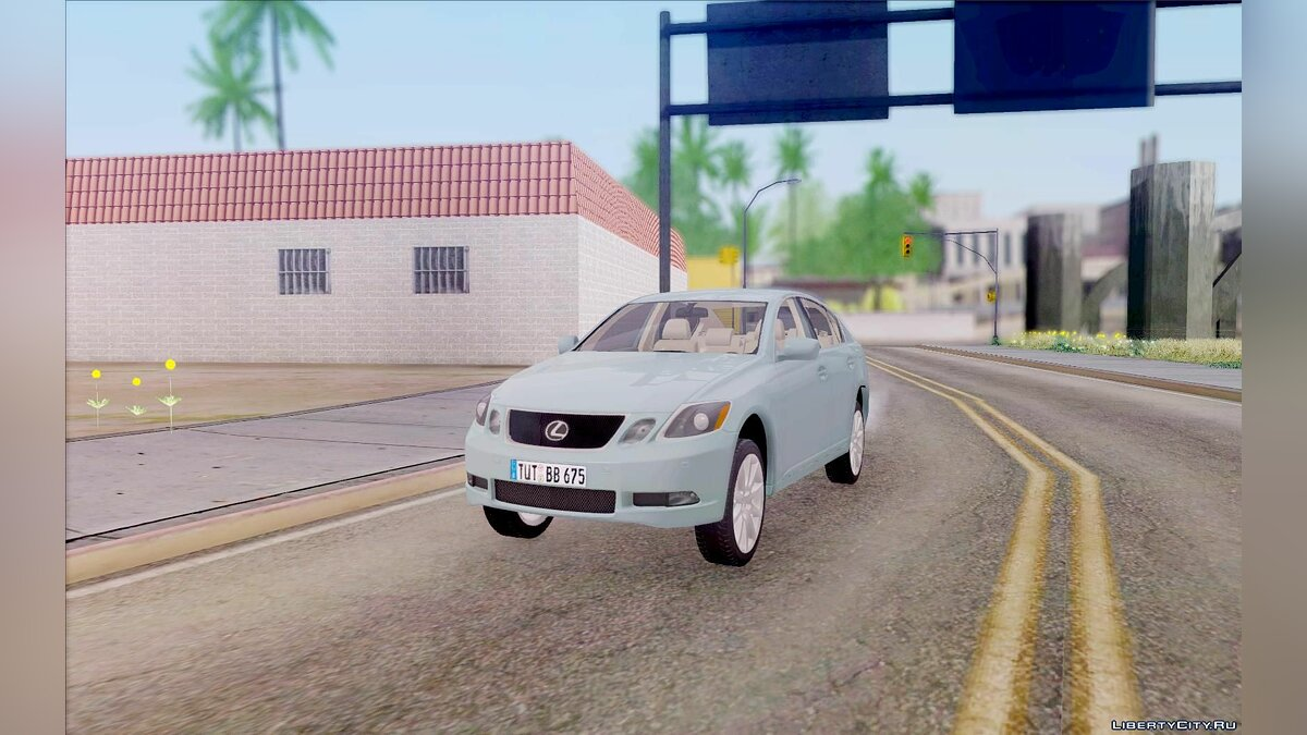 Lexus car Lexus GS430 for GTA San Andreas
