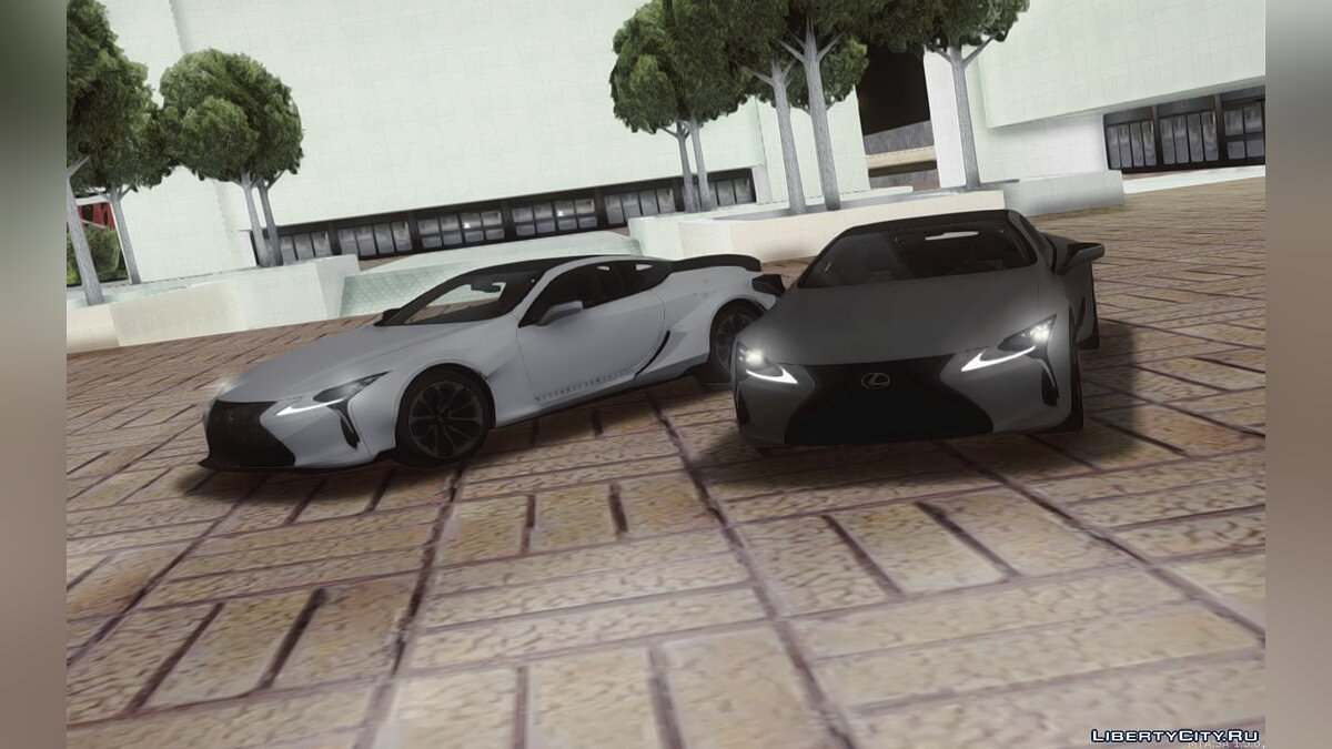 Lexus car Lexus LC500 with tuning for GTA San Andreas