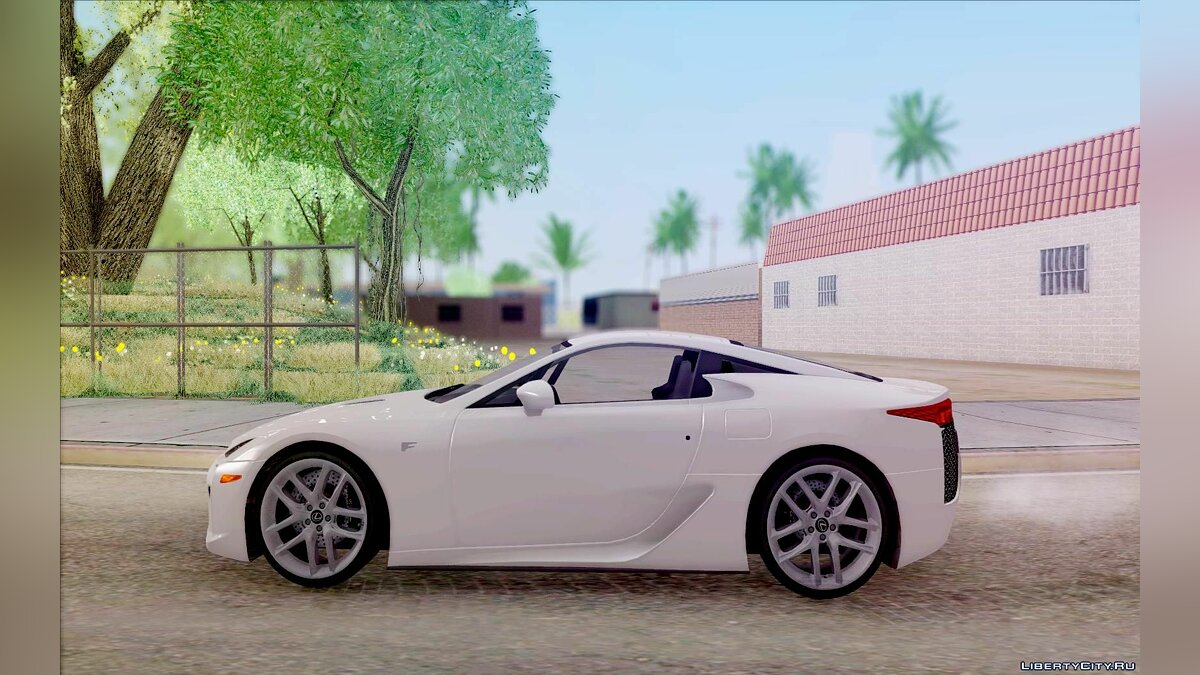 Lexus car Lexus LFA for GTA San Andreas