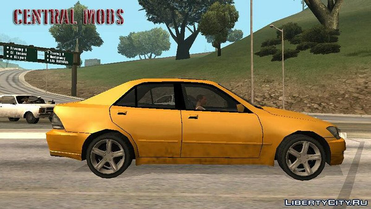 Lexus car Improved version of Lexus IS300 2001 for GTA San Andreas