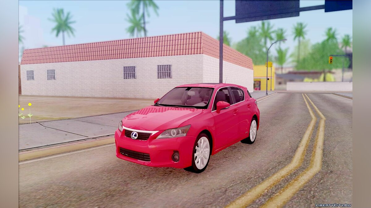 Lexus car Lexus CT200H 2011 for GTA San Andreas