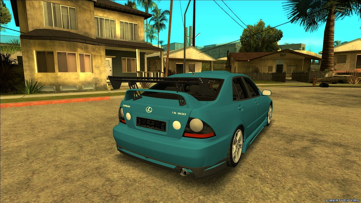 Lexus car Lexus IS300 2001 with tuning for GTA San Andreas