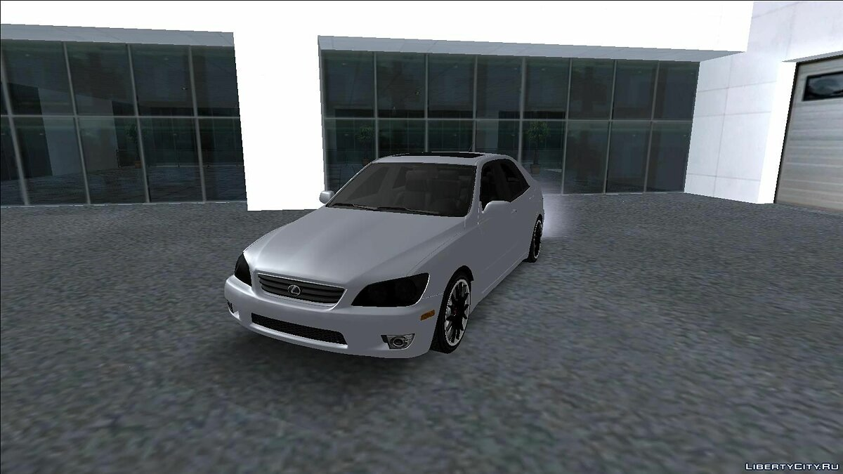 Lexus car Lexus is300 with BBS RE Rims for GTA San Andreas