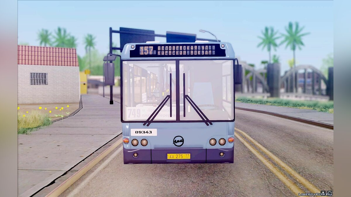 LiAZ car LiAZ 5292.70 for GTA San Andreas