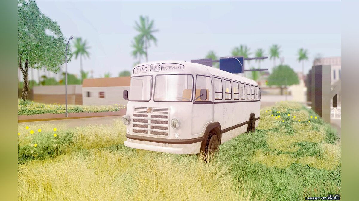 LiAZ car LiAZ 158 for GTA San Andreas