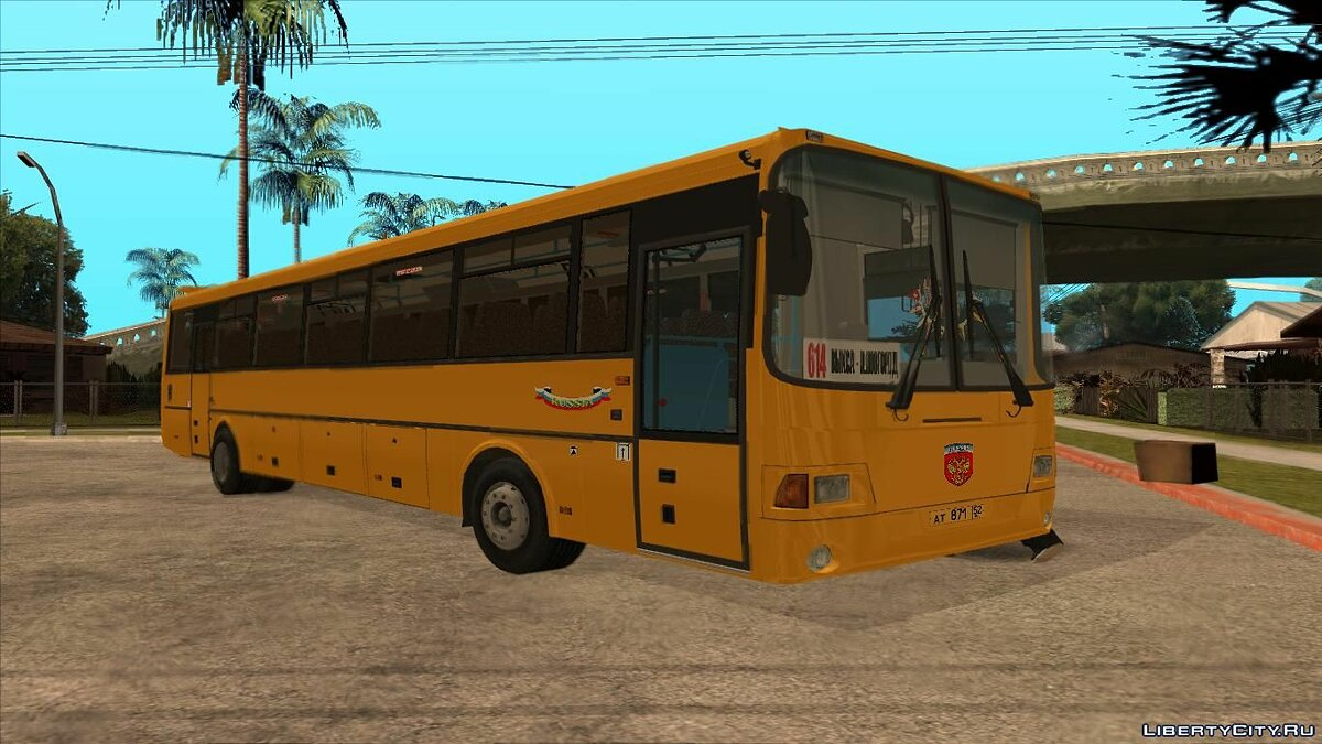 LiAZ car GolAZ-LiAZ-5256.23 2011 for GTA San Andreas