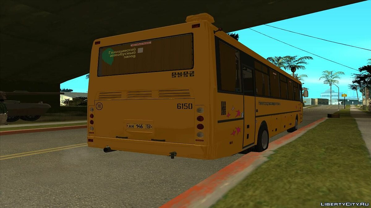 LiAZ car GolAZ-LiAZ-5256.23 2007 for GTA San Andreas