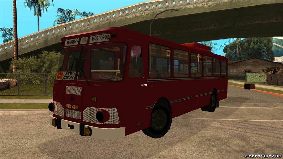 LiAZ car LiAZ 677M HBI for GTA San Andreas