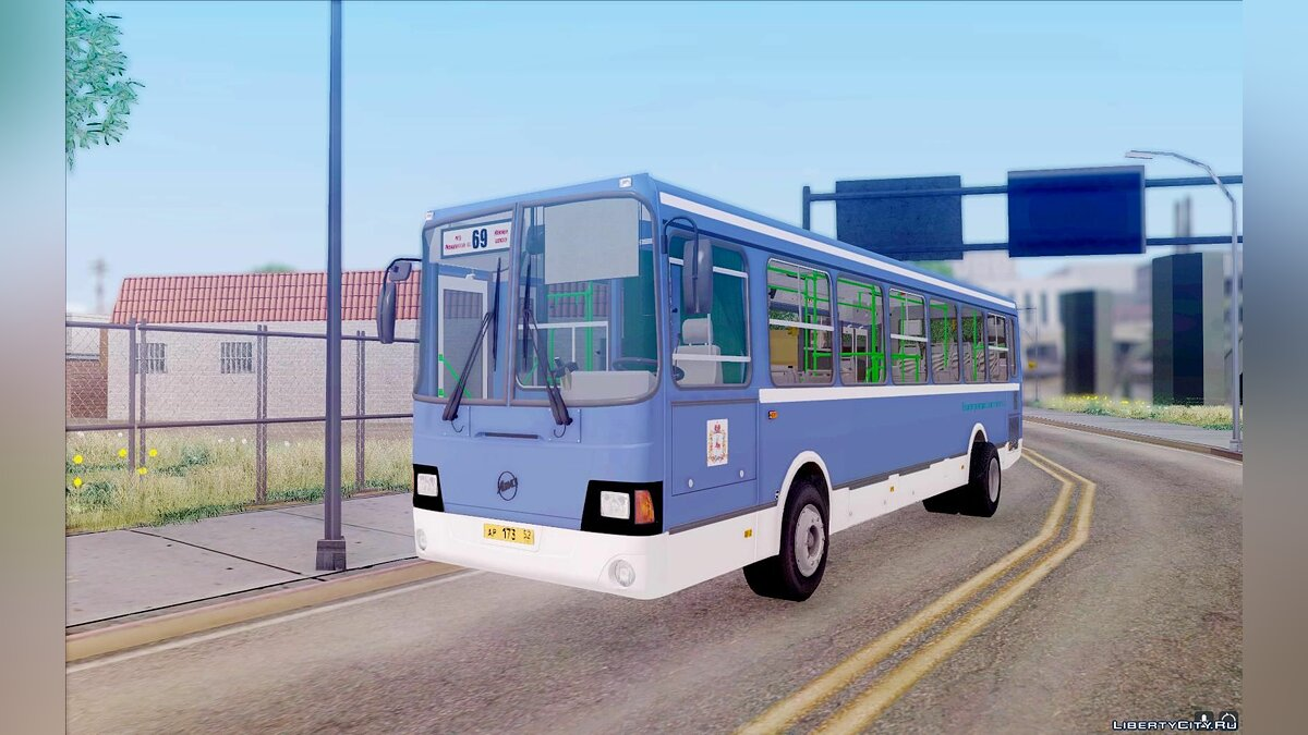LiAZ car LiAZ 5256-26 for GTA San Andreas