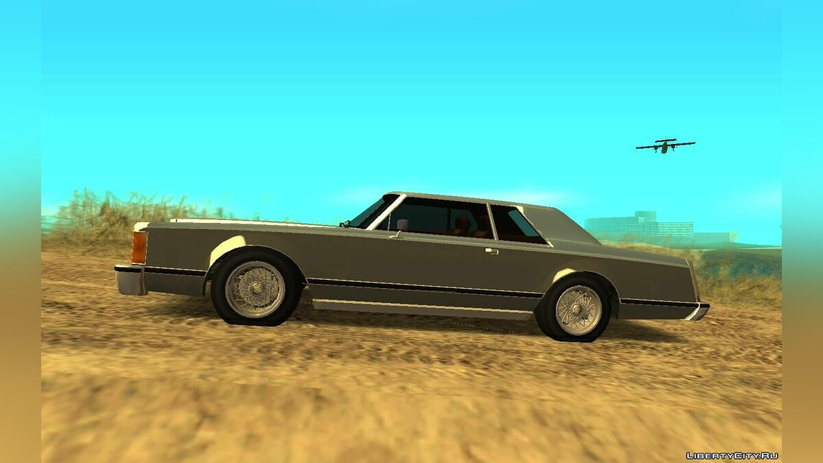 Lincoln car 1977 Lincoln Continental Mark B (Virgo style) v1.0 for GTA San Andreas