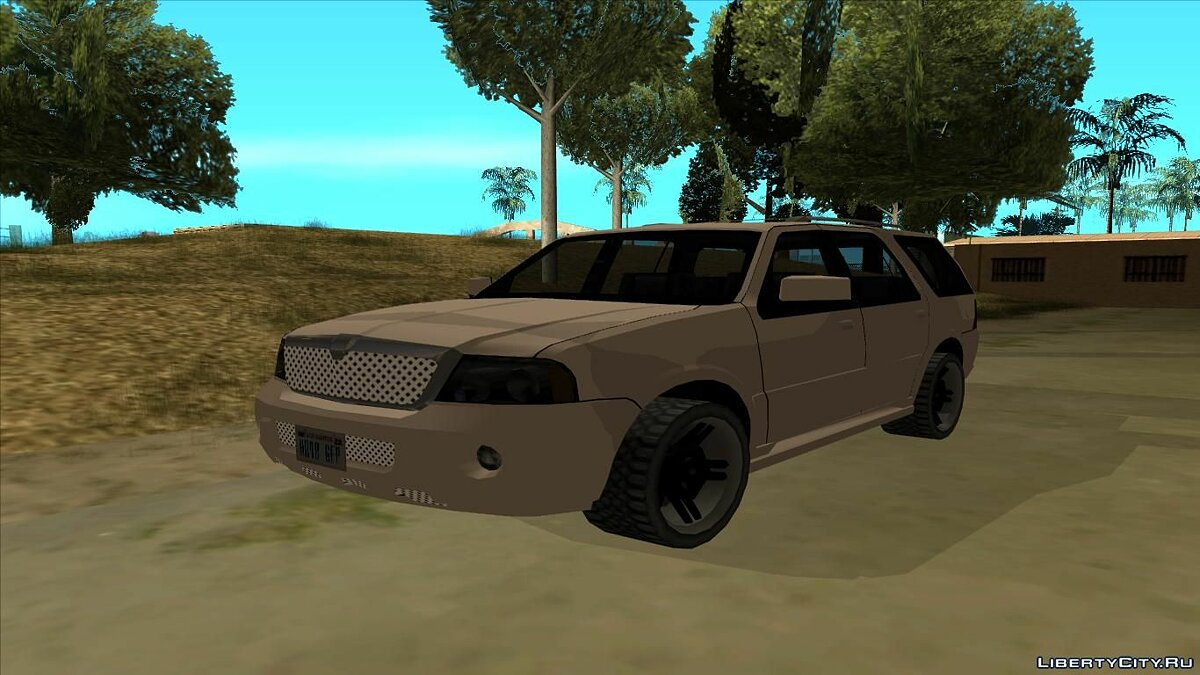 Lincoln car Lincoln Navigator 2d Generation Low Poly for GTA San Andreas