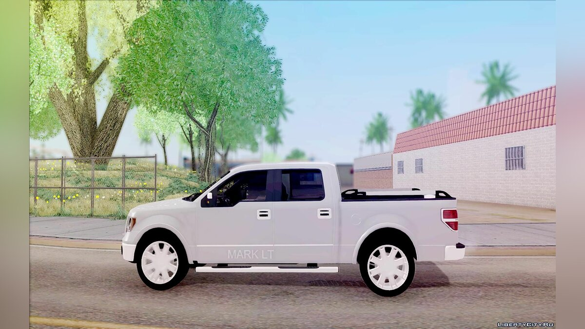 Lincoln car Lincoln Mark LT 2012 for GTA San Andreas