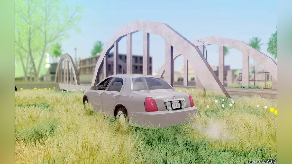 Lincoln car Lincoln Town Car 2002 for GTA San Andreas