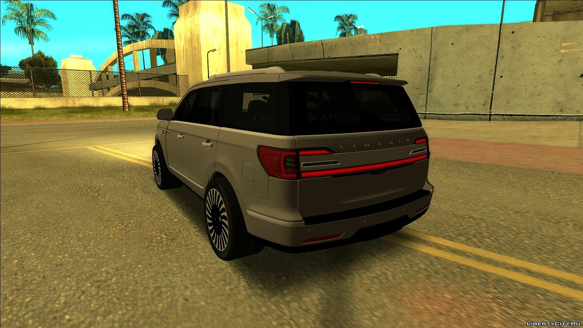 Lincoln car Lincoln Navigator 2018 for GTA San Andreas