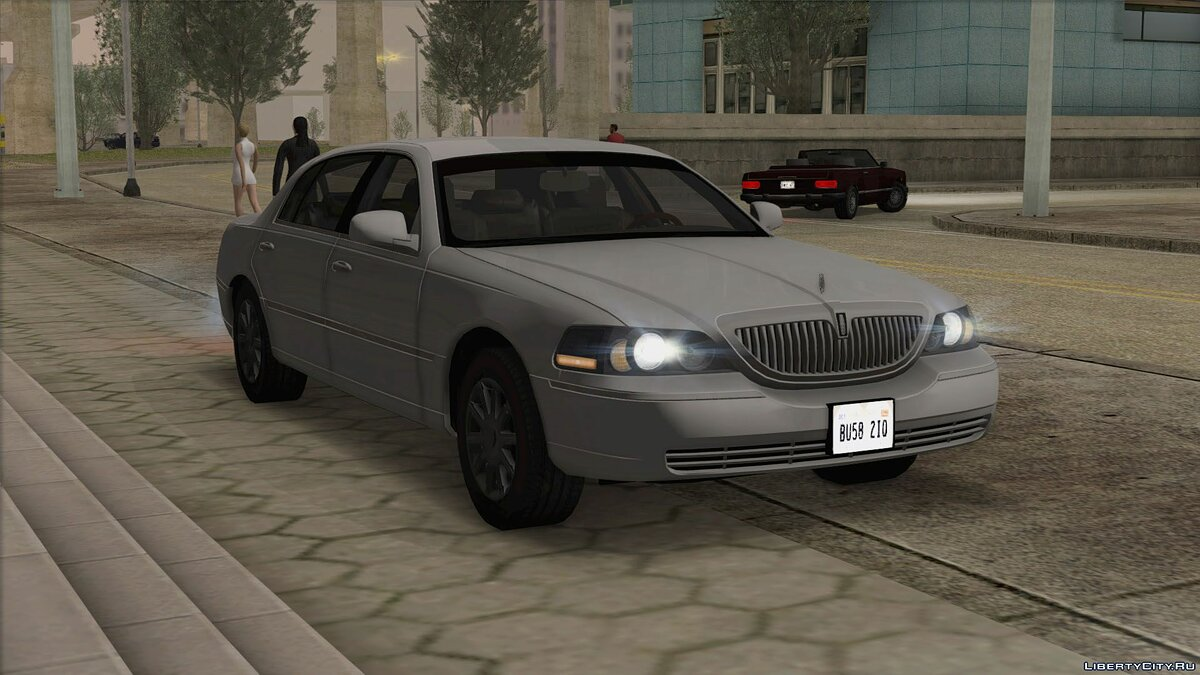 Lincoln car Lincoln Town Car L Signature 2010 for GTA San Andreas