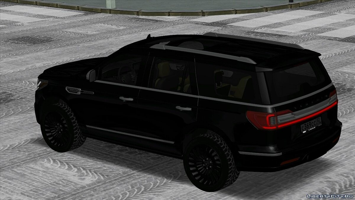 Lincoln car Lincoln navigator for GTA San Andreas
