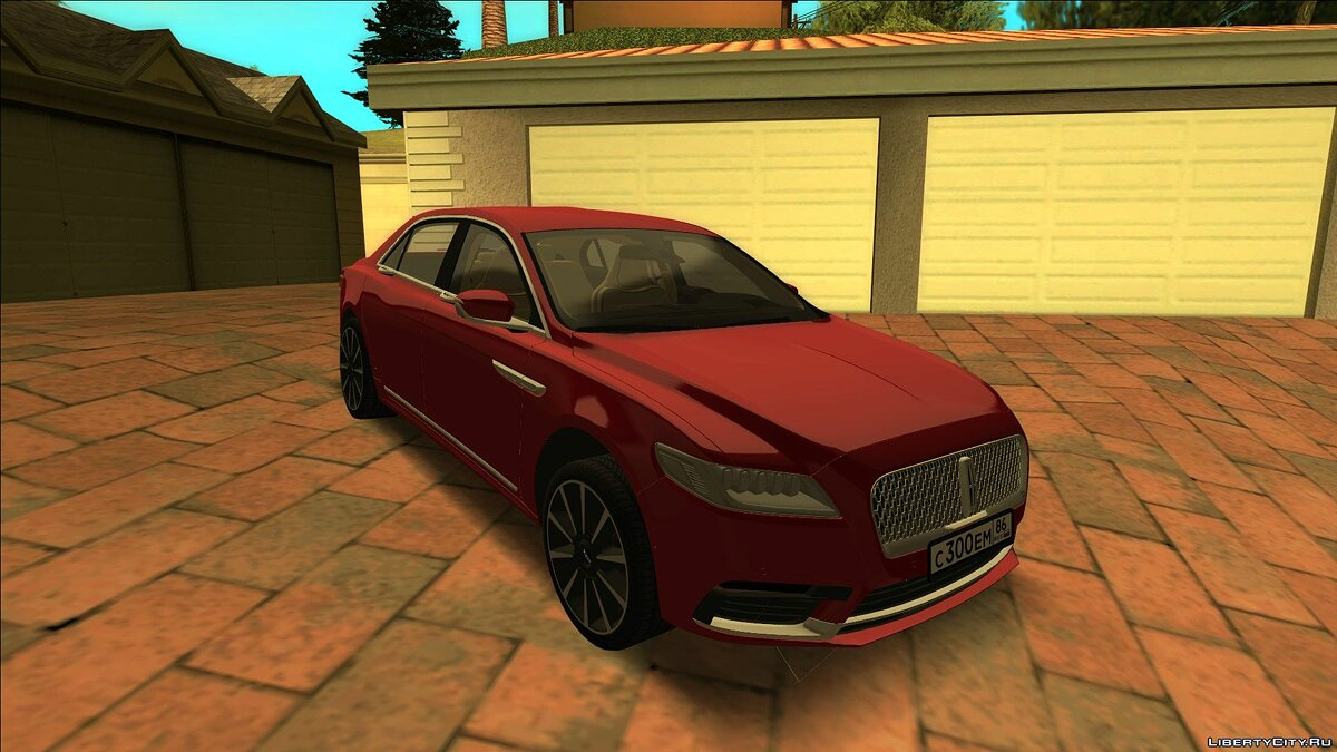 Lincoln car Lincoln continental for GTA San Andreas
