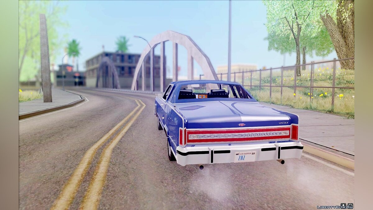 Lincoln car Lincoln Continental Town Coupe 1979 for GTA San Andreas