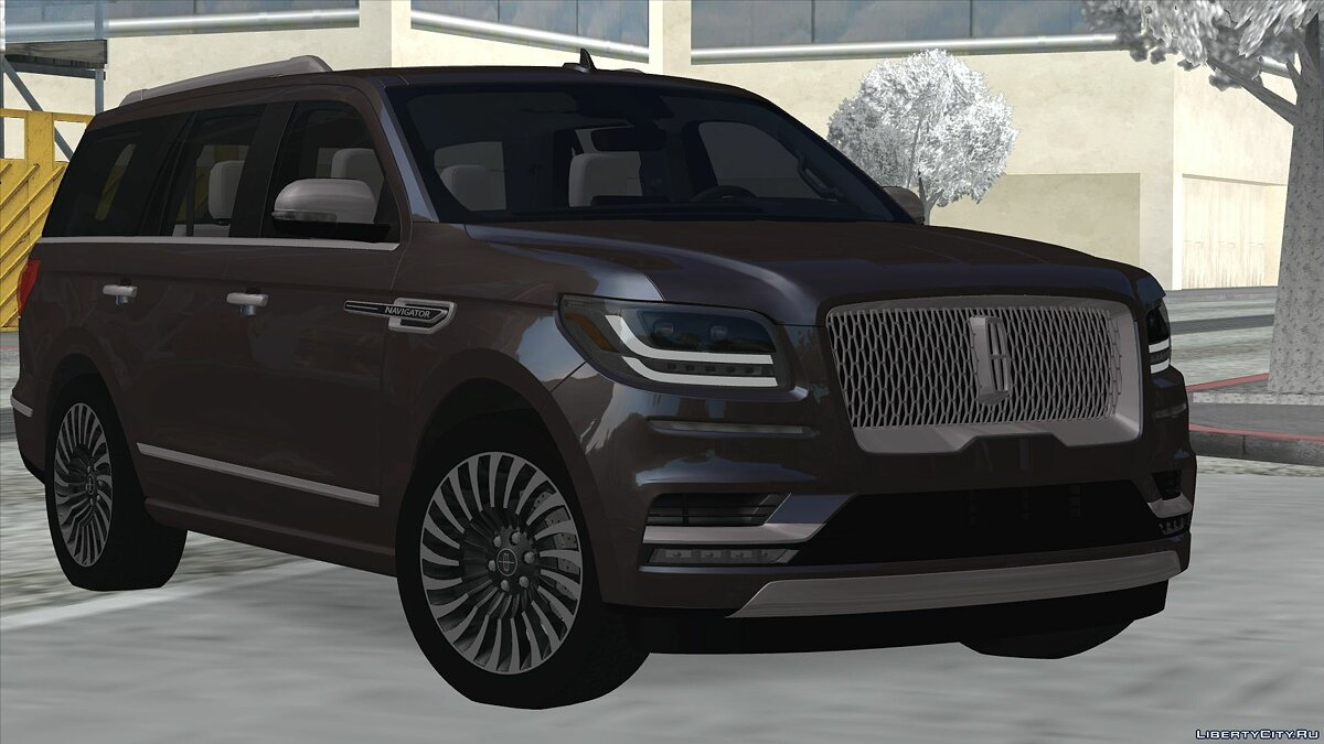 Lincoln car Lincoln Navigator 2019 for GTA San Andreas