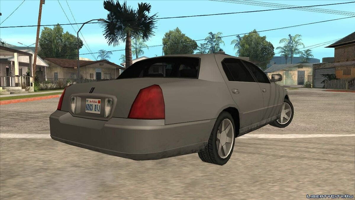 Lincoln car Lincoln Town Car 2011 for GTA San Andreas