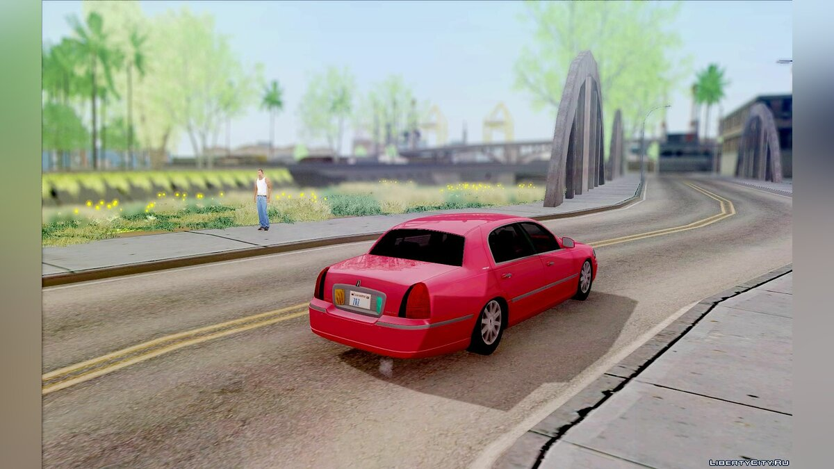Lincoln car Lincoln Towncar for GTA San Andreas