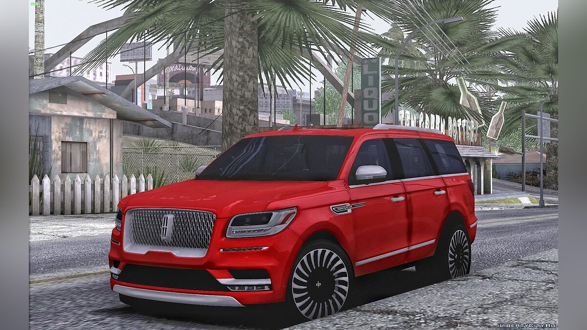 Lincoln car Lincoln Navigator 2020 for GTA San Andreas