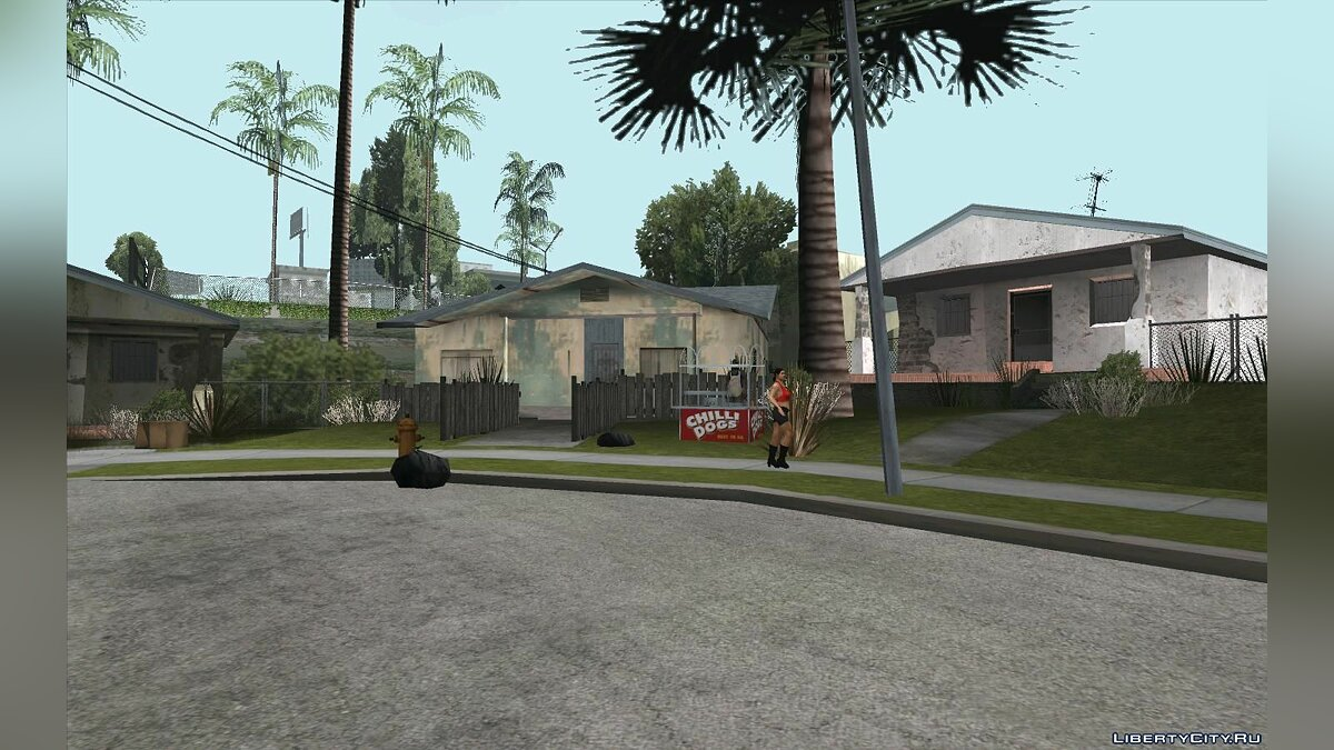 Islands and locations Updated Grove Street for GTA San Andreas