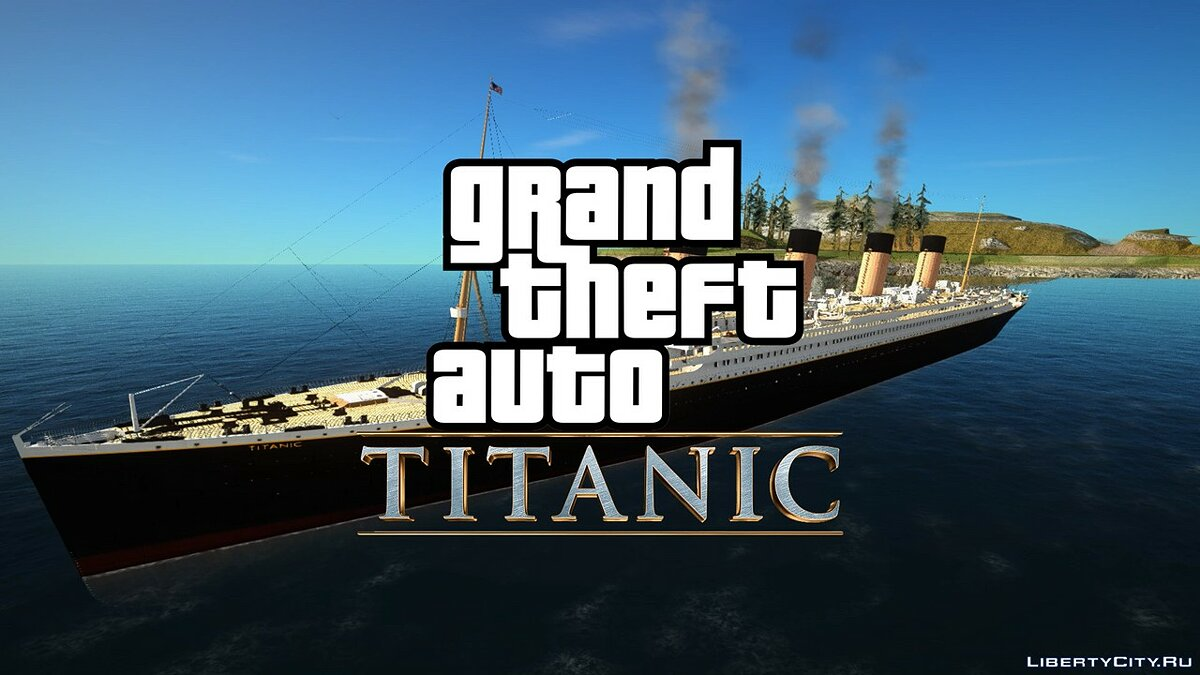 Islands and locations PROJECT TITANIC v1.0 for GTA San Andreas