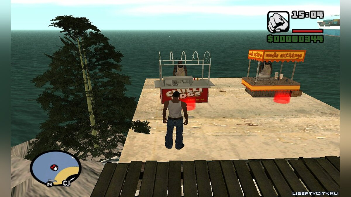 Islands and locations Isle for GTA San Andreas