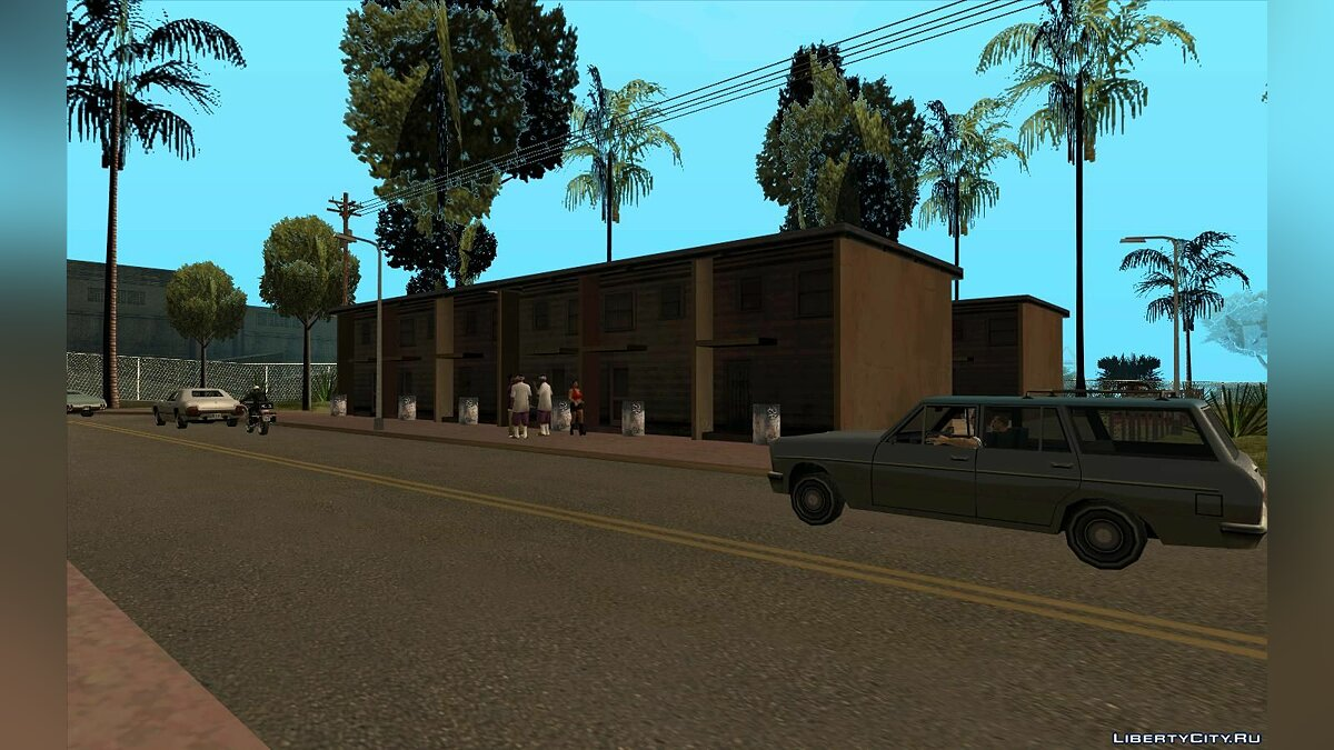 Islands and locations Honous district for GTA San Andreas