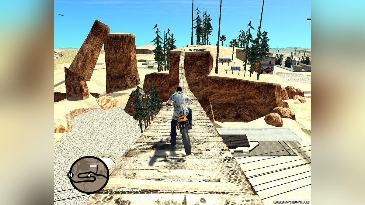 Islands and locations Tourist Attractions in the Desert for GTA San Andreas