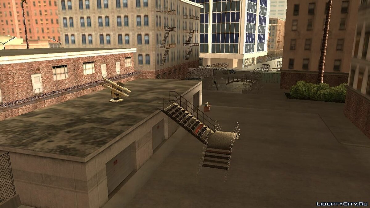 Islands and locations Zombie Apocalypse Base for GTA San Andreas