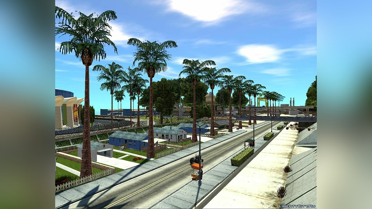 Islands and locations Ganton palm village for GTA San Andreas