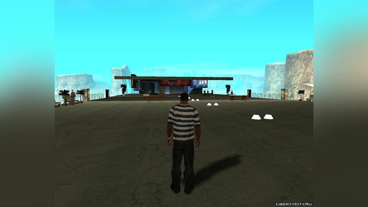 Islands and locations Rest Area di Area 69 - Rest Area for GTA San Andreas