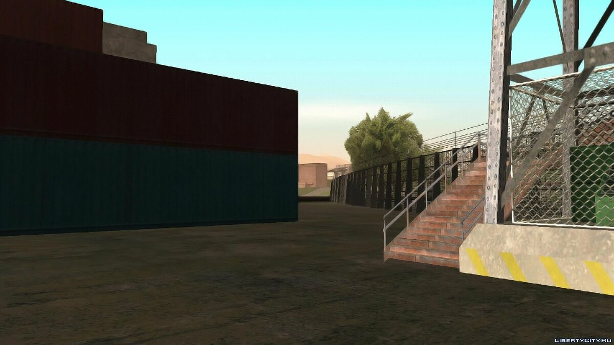 Islands and locations New military base in SF 1.0 for GTA San Andreas