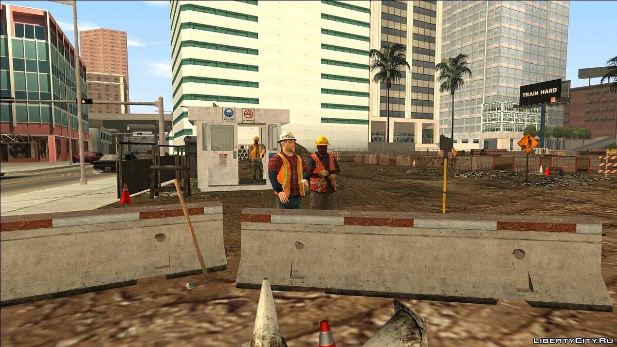 Islands and locations INSANITY Construction Site for GTA San Andreas