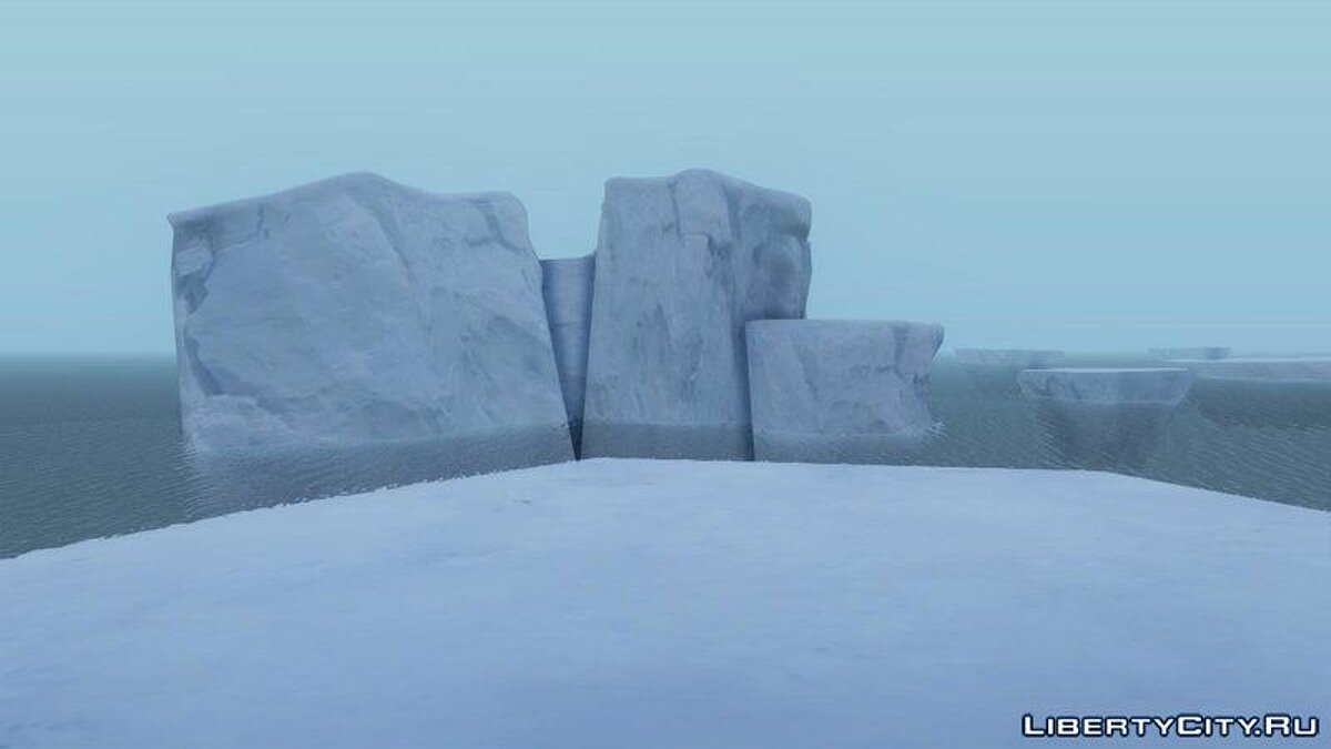Islands and locations Antarctic for GTA San Andreas