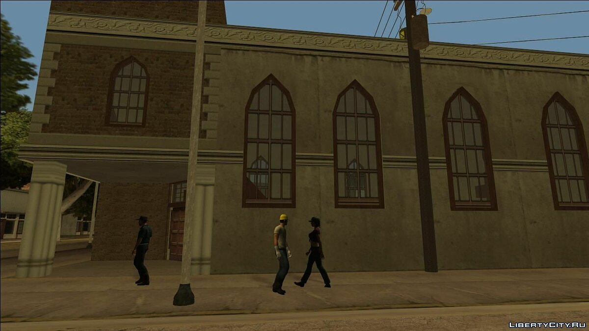 Islands and locations Fort Carson Enterable Buildings Mod for GTA San Andreas