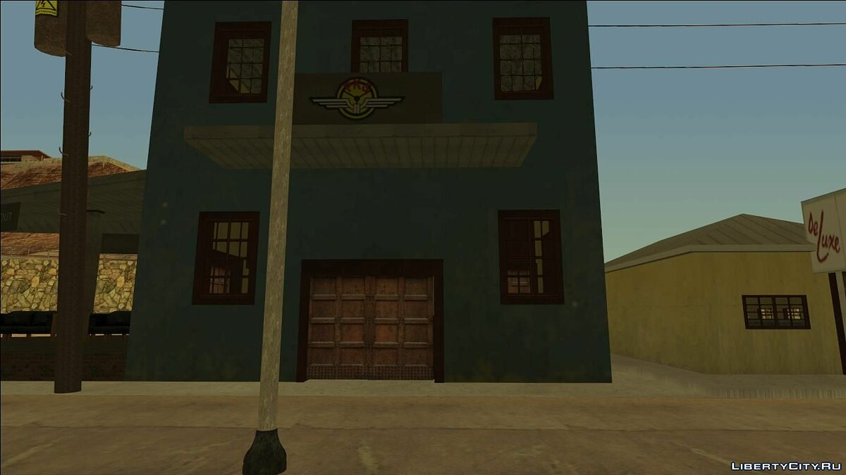 Fort Carson Enterable Buildings Mod for GTA San Andreas - screenshot #11