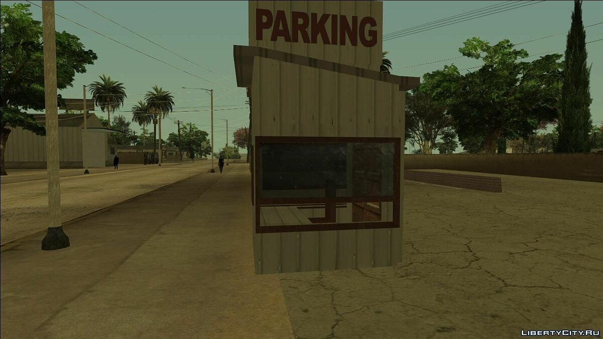 Fort Carson Enterable Buildings Mod for GTA San Andreas - screenshot #15