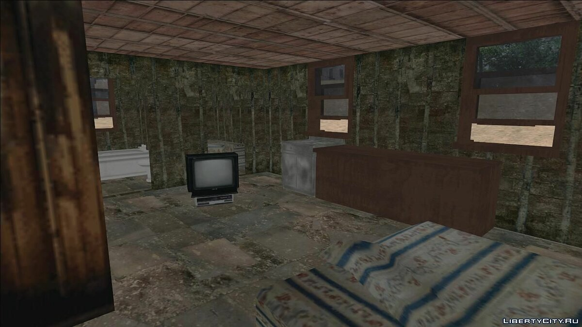 Fort Carson Enterable Buildings Mod for GTA San Andreas - screenshot #18