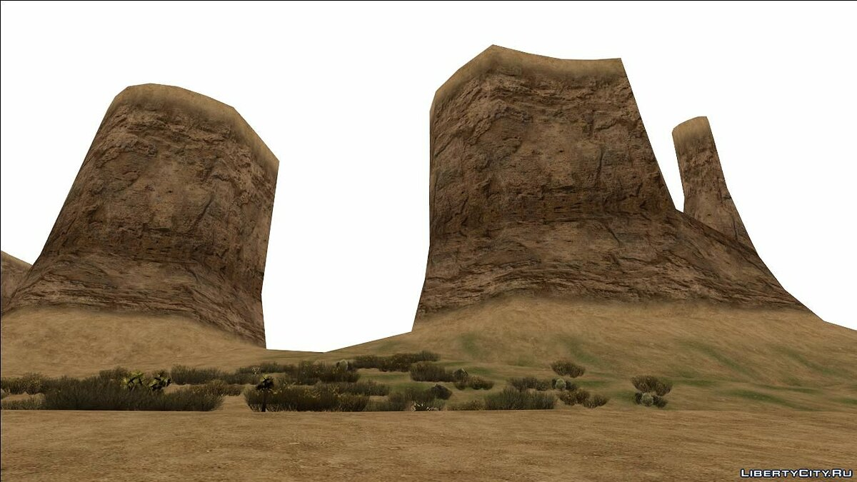 Islands and locations HQ Desert - countryn2.ipl MeshSmoothed v1.1.2 for GTA San Andreas