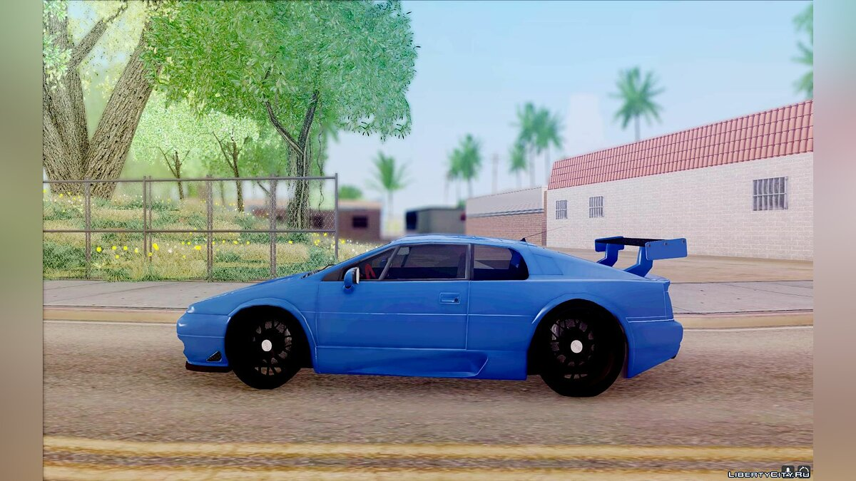 Lotus car Lotus Esprit V8 for GTA San Andreas