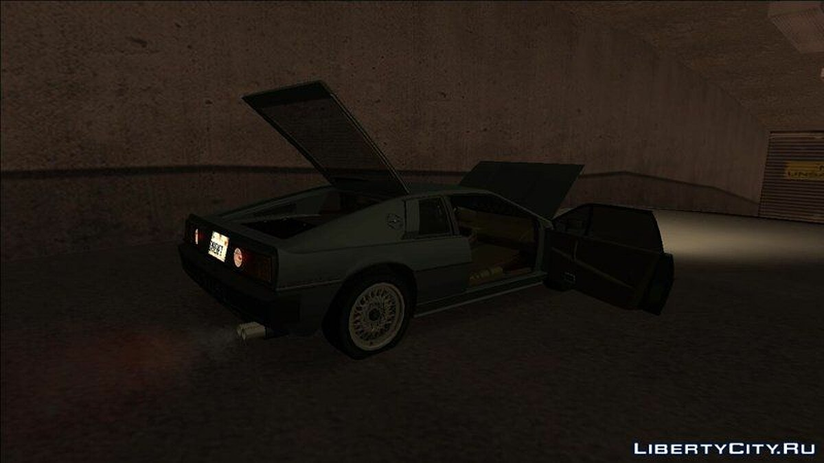 Lotus car Lotus Esprit S3 1981 for GTA San Andreas