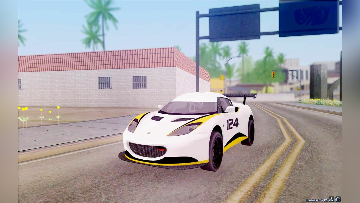 Lotus car Lotus Evora Type 124 for GTA San Andreas