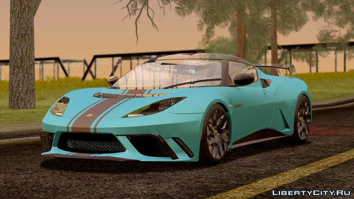 Lotus car Lotus Evora GTE for GTA San Andreas
