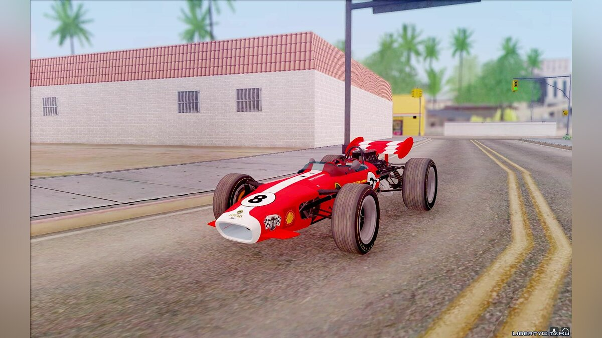 Lotus car Lotus 46 1967 for GTA San Andreas